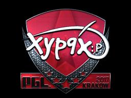 Sticker | Xyp9x (Foil) | Krakow 2017