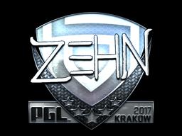 Sticker | zehN (Foil) | Krakow 2017