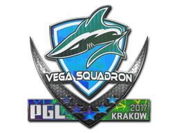 Sticker   Vega Squadron (Holo)   Krakow 2017