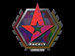 Наклейка | Astralis (голографическая) | Лондон 2018