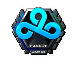 Наклейка | Cloud9 (металлическая) | Лондон 2018
