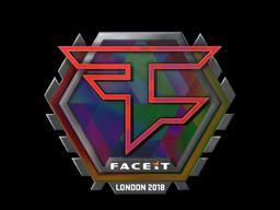 Наклейка | FaZe Clan (голографическая) | Лондон 2018