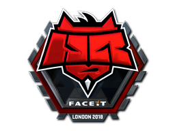 Sticker   HellRaisers (Foil)   London 2018