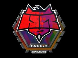 Sticker   HellRaisers (Holo)   London 2018