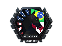Наклейка | Team Liquid (металлическая) | Лондон 2018