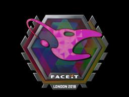 Наклейка | mousesports (голографическая) | Лондон 2018