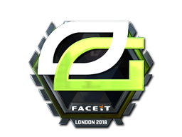 Sticker   OpTic Gaming (Foil)   London 2018