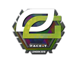 Sticker   OpTic Gaming (Holo)   London 2018