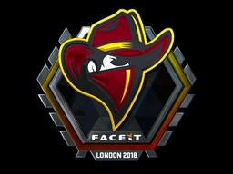 Sticker   Renegades (Foil)   London 2018