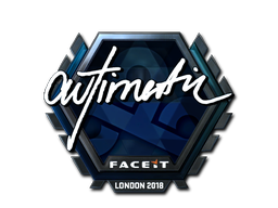 Sticker   autimatic (Foil)   London 2018