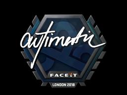 Sticker   autimatic   London 2018