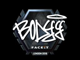 Sticker   bodyy (Foil)   London 2018