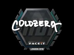 Sticker   coldzera   London 2018