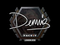 Sticker   dennis   London 2018