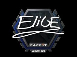 Наклейка | EliGE | Лондон 2018