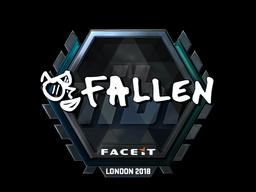 Sticker   FalleN (Foil)   London 2018