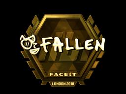 Sticker   FalleN (Gold)   London 2018