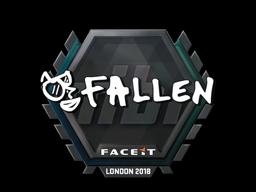 Sticker   FalleN   London 2018