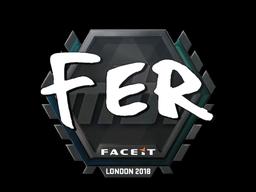 Sticker   fer   London 2018