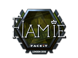 Sticker   flamie (Foil)   London 2018