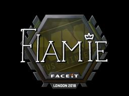 Sticker   flamie   London 2018