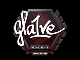 Наклейка | gla1ve | Лондон 2018