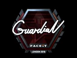 Sticker   GuardiaN (Foil)   London 2018