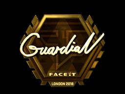 Sticker   GuardiaN (Gold)   London 2018