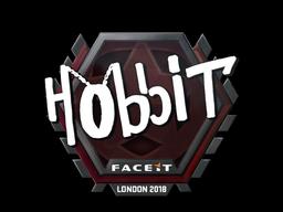 Наклейка | Hobbit | Лондон 2018
