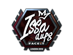 Наклейка   ISSAA (металлическая)   Лондон 2018