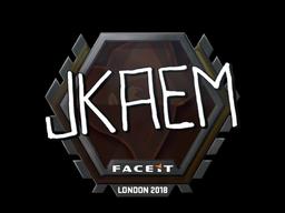 Sticker   jkaem   London 2018