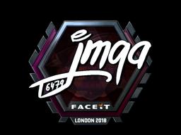 Sticker   jmqa (Foil)   London 2018