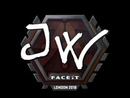 Sticker   JW   London 2018