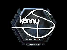 Sticker   kennyS (Foil)   London 2018