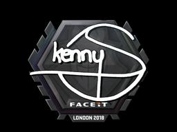 Sticker   kennyS   London 2018