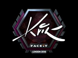 Sticker   Kvik (Foil)   London 2018