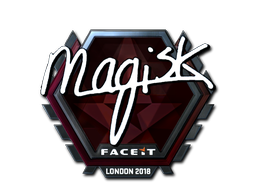 Наклейка | Magisk (металлическая) | Лондон 2018
