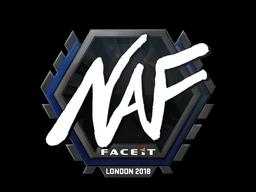 Наклейка | NAF | Лондон 2018