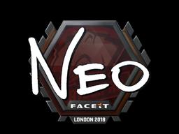 Наклейка | NEO | Лондон 2018