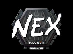 Наклейка | nex | Лондон 2018