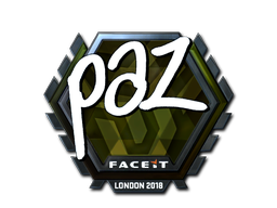 Наклейка | paz (металлическая) | Лондон 2018
