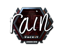 Sticker   rain (Foil)   London 2018