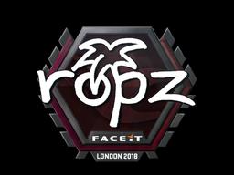 Sticker   ropz   London 2018