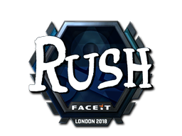 Sticker   RUSH (Foil)   London 2018