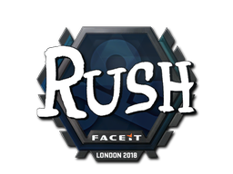 Sticker   RUSH   London 2018