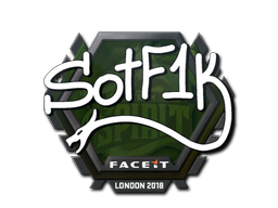Наклейка   S0tF1k   Лондон 2018