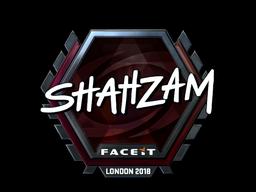 Наклейка   ShahZaM (металлическая)   Лондон 2018