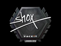 Sticker   shox   London 2018