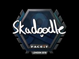 Sticker   Skadoodle   London 2018