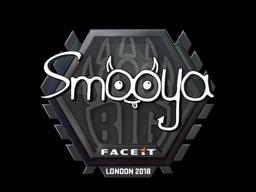Наклейка | smooya | Лондон 2018